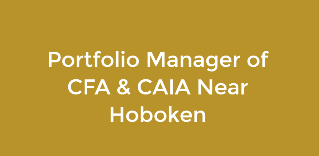 More About Eduardo Gonzalez portfolio management in Hoboken NJ